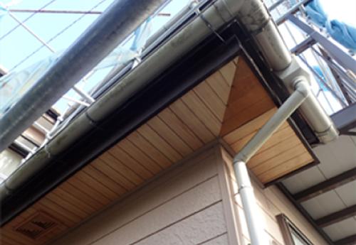 軒天の増張り補修