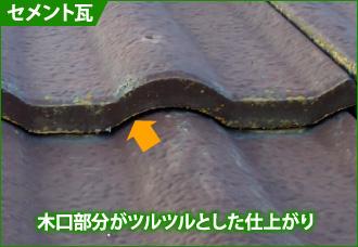 セメント瓦の見分け方
