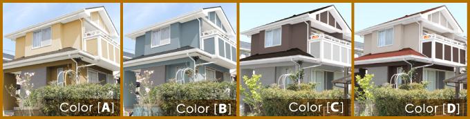 カラーシミュレーションイメージ