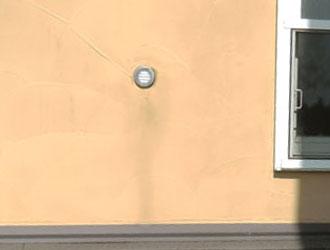 色あせした外壁