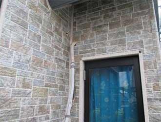 IG工業のガルバリウム鋼板の外壁材を施工したお住まい
