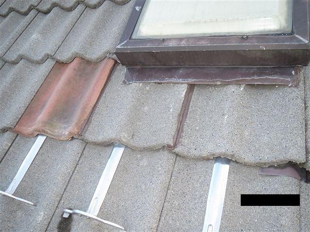 屋根セメント平瓦修繕完了
