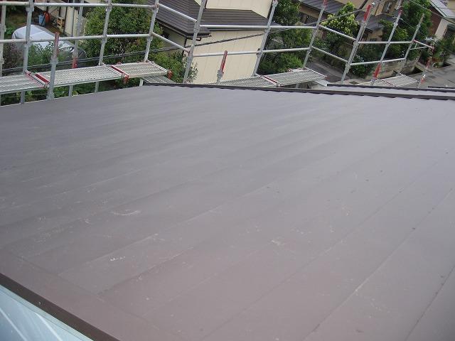 屋根完工2