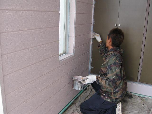 外壁 仕上げ塗