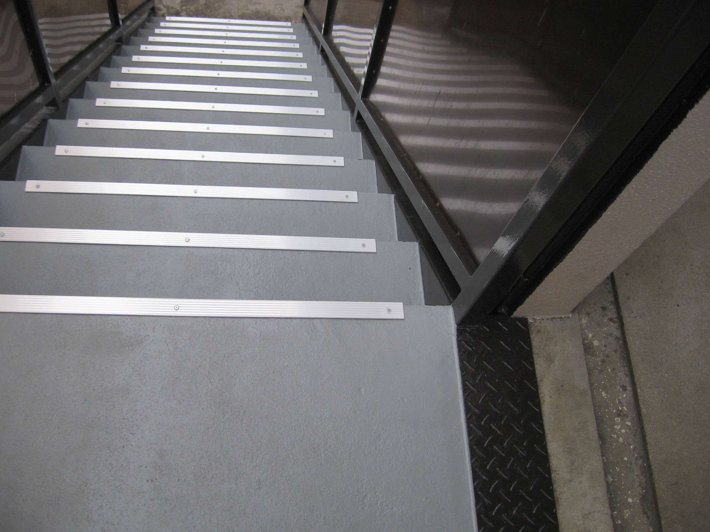 階段防水塗装