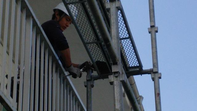 塗装足場工事