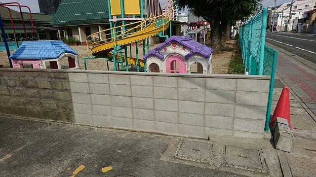 ブロック修繕完了
