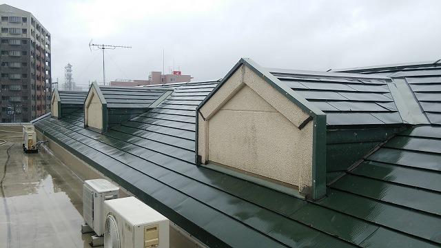 飾り屋根②