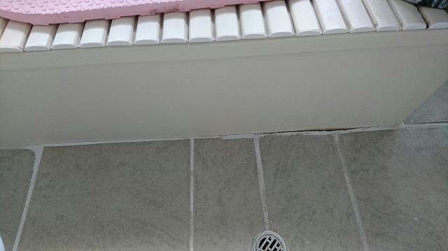 浴槽との隙間