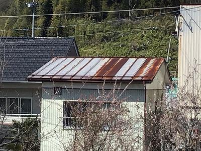 南側屋根全景