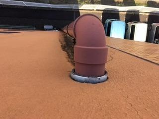 屋上雨水用竪樋