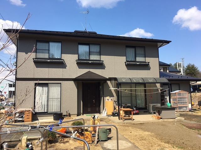 屋根・外壁塗装完了