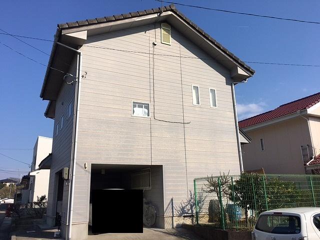 桑折町の住宅の屋根・外壁塗装前と塗装後の太陽の光による色の変化をご覧ください