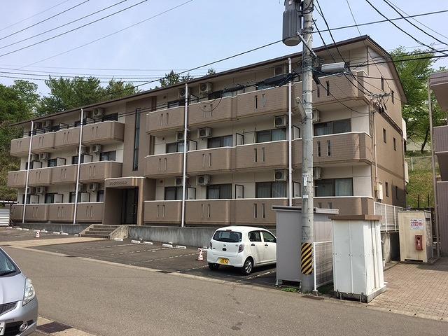 福島市のマンション塗装前