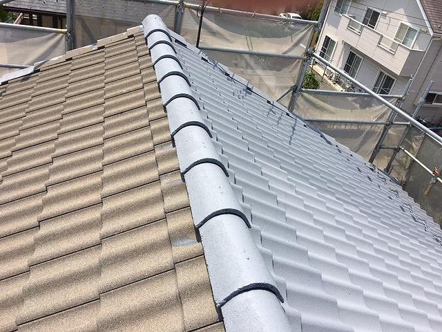 セメント瓦屋根塗装
