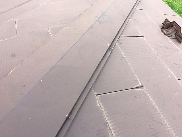 塗装前屋根