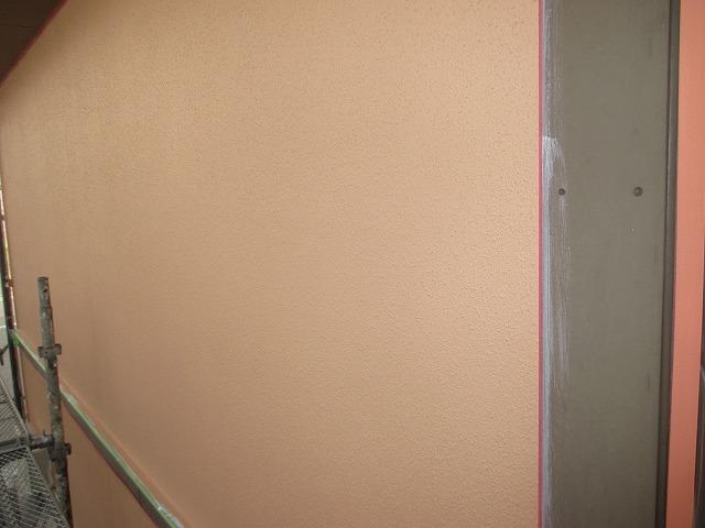 外壁中塗り完成