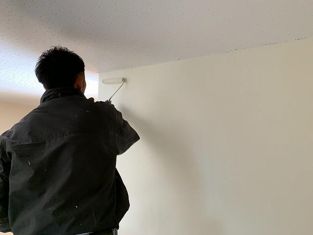 壁仕上げ塗り追加
