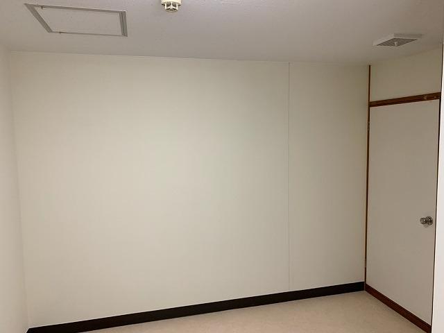 壁塗装完成