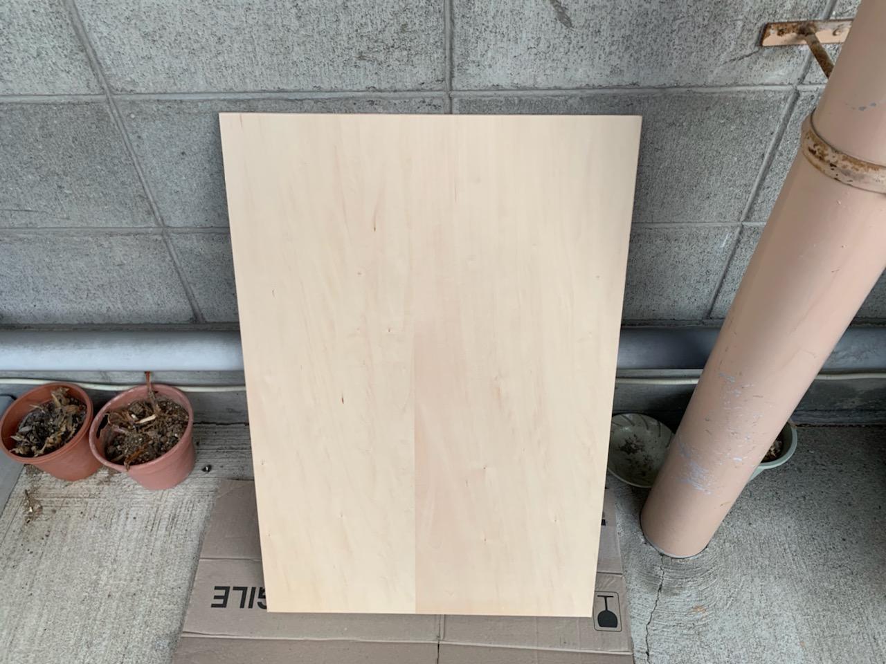 棚板塗装前