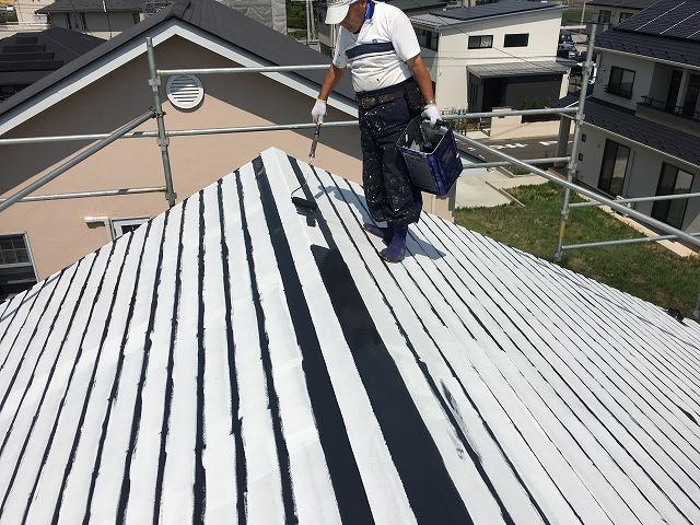 屋根さび止め塗装