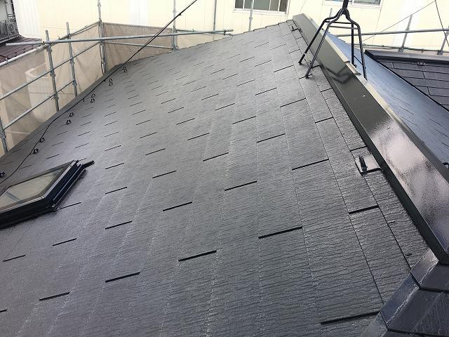 コロニアル屋根塗装完了
