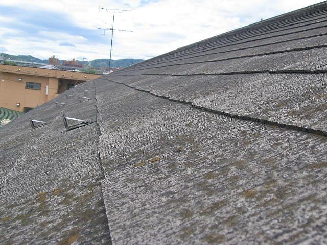 コロニアル葺き屋根調査