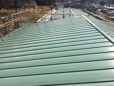 マンション屋根塗装完了
