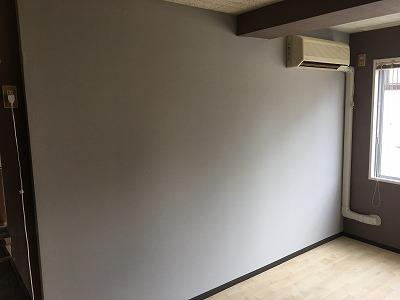 壁クロス施工後