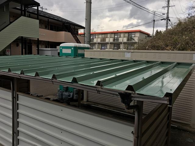 自転車置き場屋根