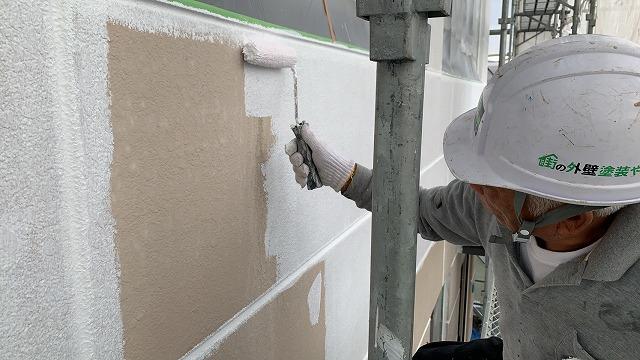 ALC外壁下塗り