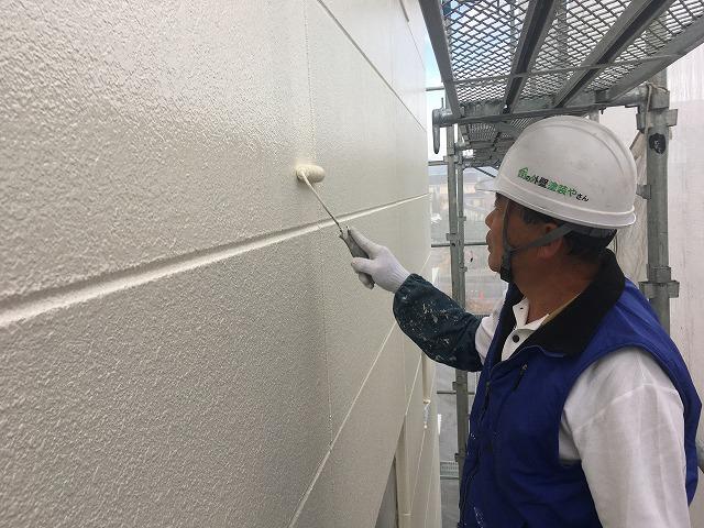 ALC外壁上塗り
