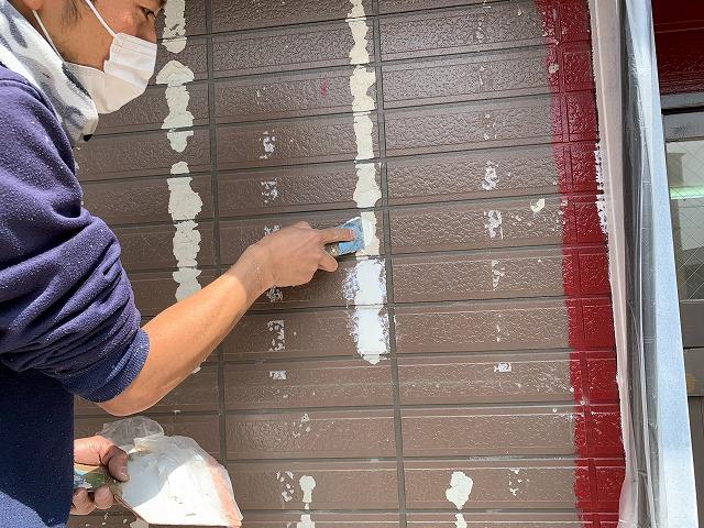 外壁 塗装 パテ