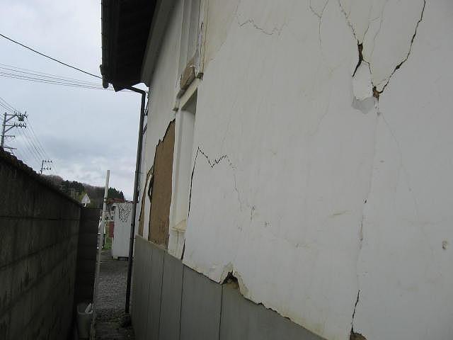 蔵外壁調査